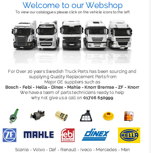 Selling Truck Parts To Latvia